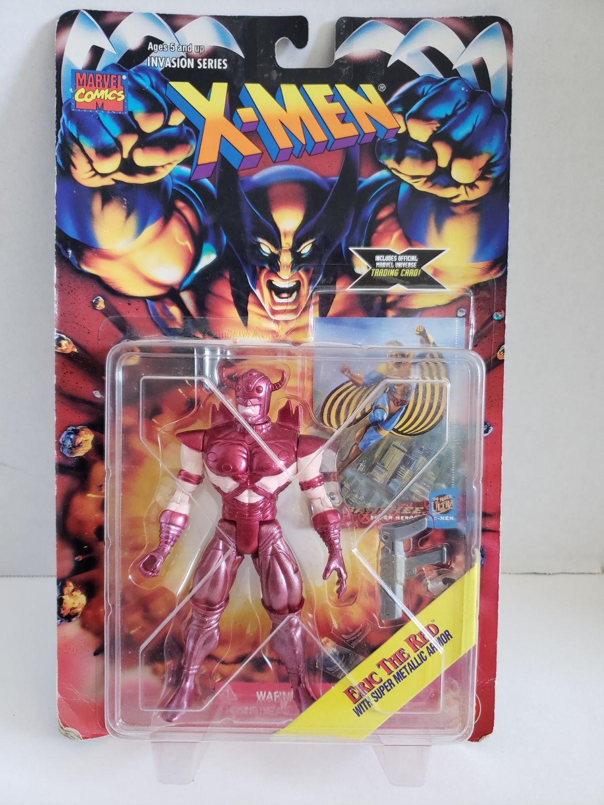 X-men Action Figure - Eric the Red