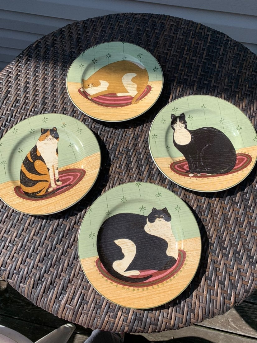 Warren Kimble Cat Collection Plates