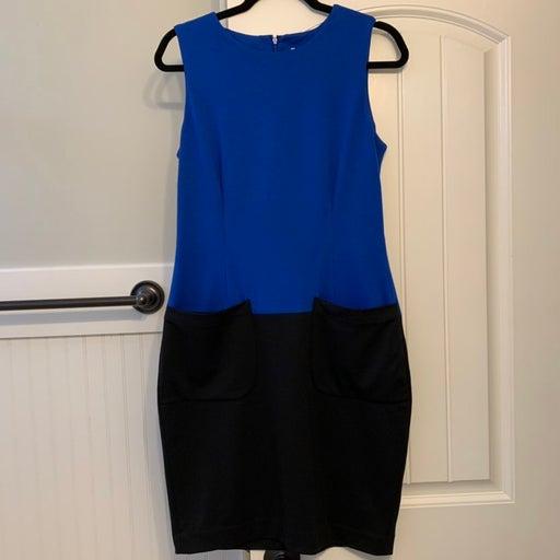Calvin Klein Sheath Dress with Pockets