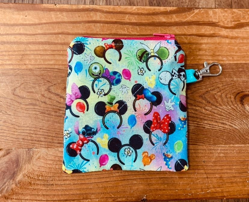Mickey Ears Coin Pouch