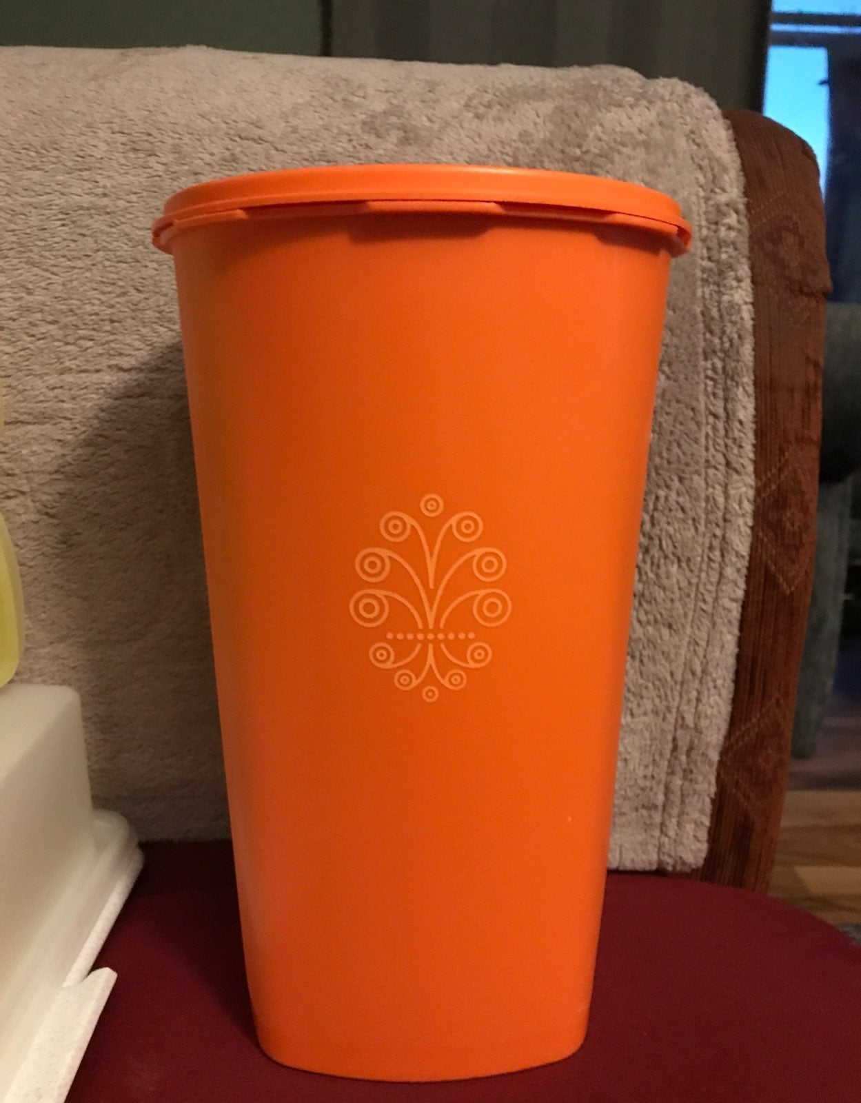 Vintage Tupperware Canister, tall