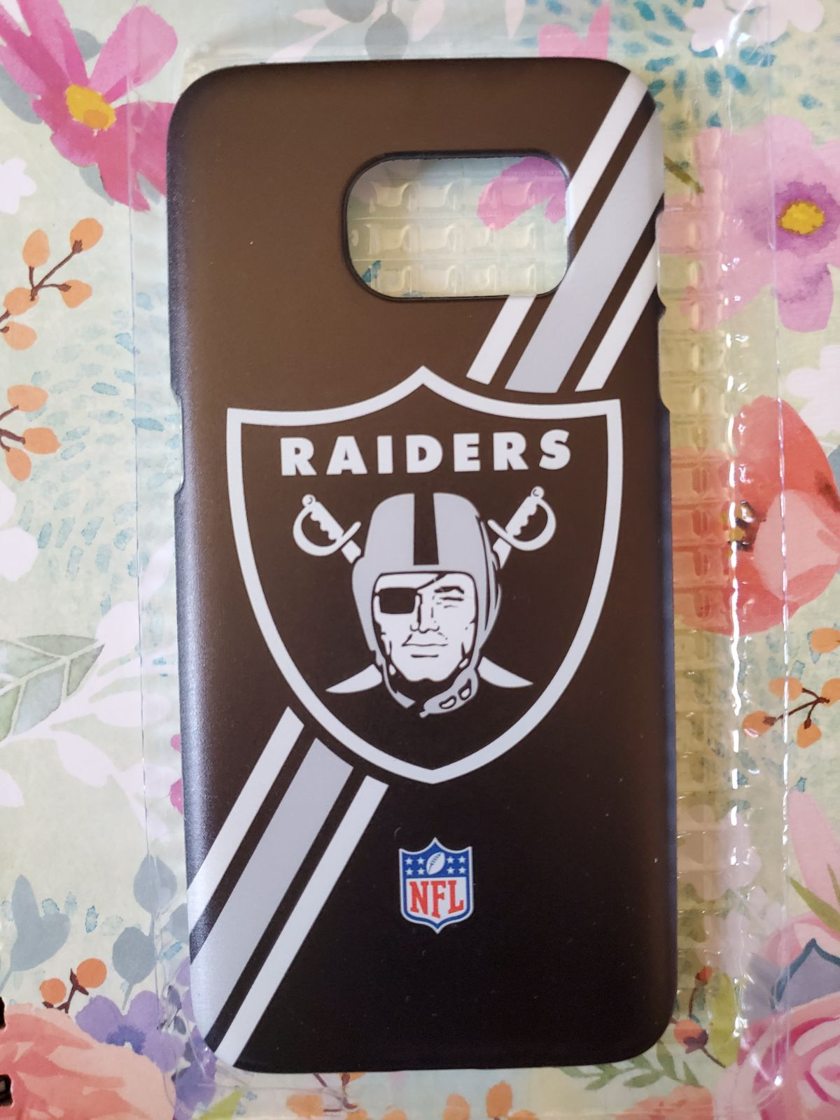 Raiders Cell Phone Case