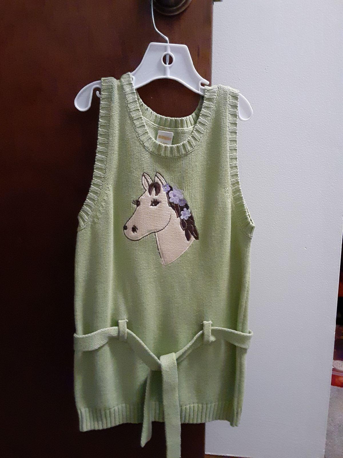 Gymboree sleeveless sweater dress SZ 5/6