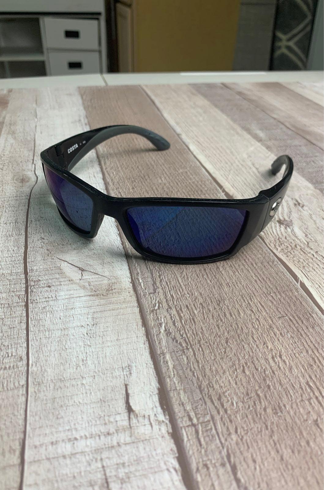 costa sunglasses men - Black & Blue