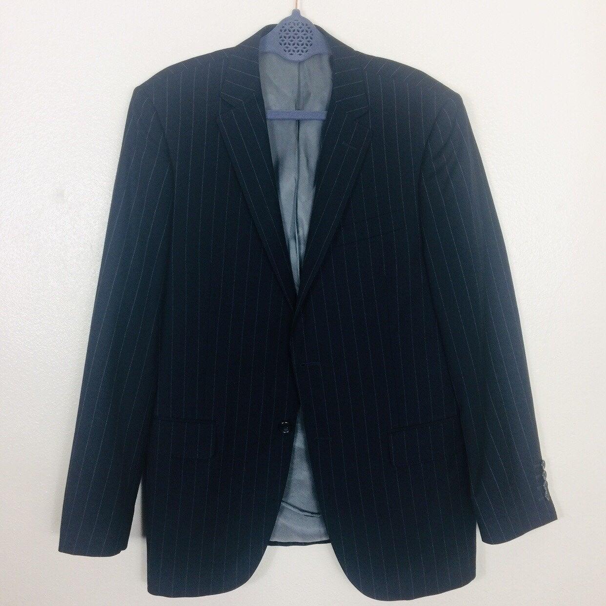 Men's Blazer Tiglio Pin Stripe Suit Blaz