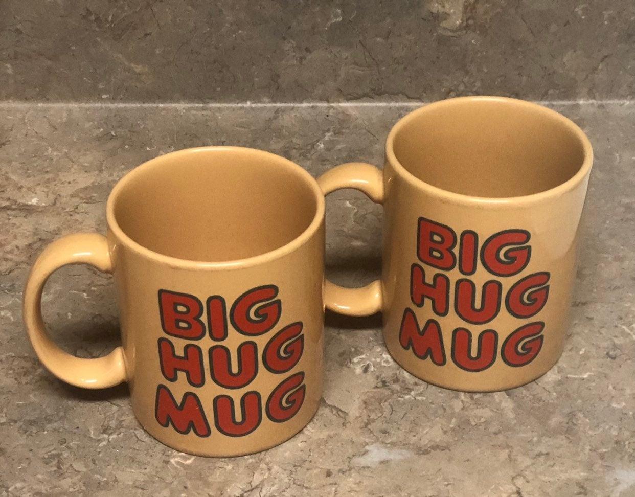2 Vintage Big Hug Mugs