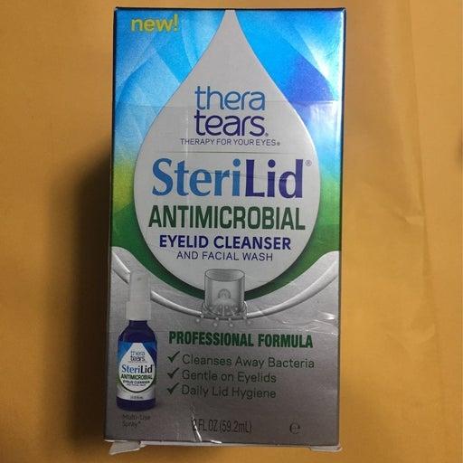Thera Tears SteriLid Antimicrobial wash