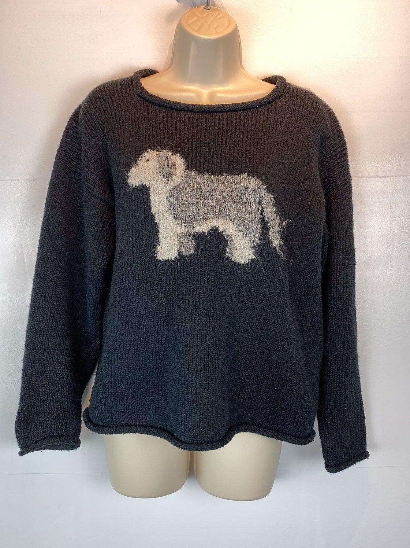 Orvis hand loomed sheepdog sweater sz S