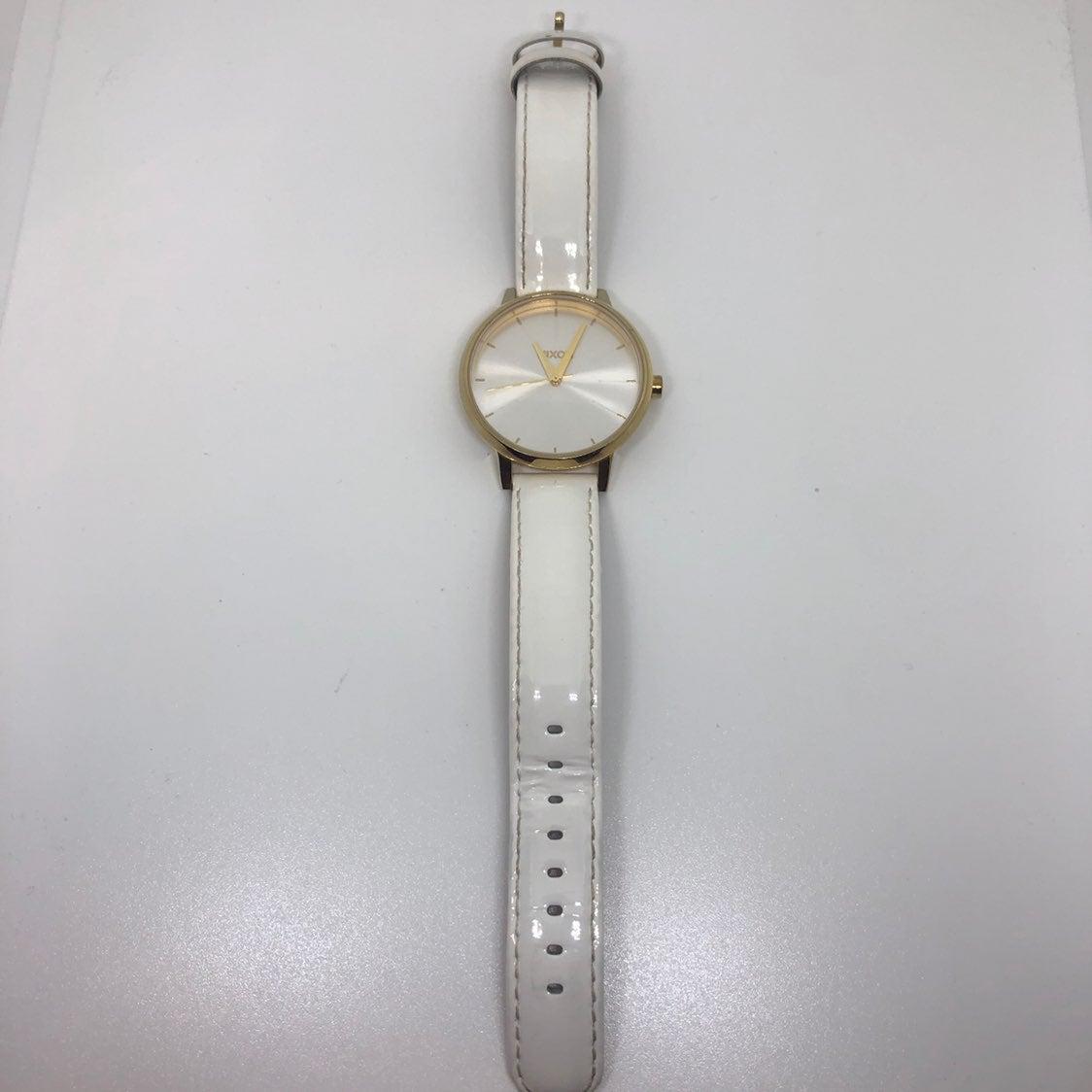 Nixon White + Gold The Kensington Watch