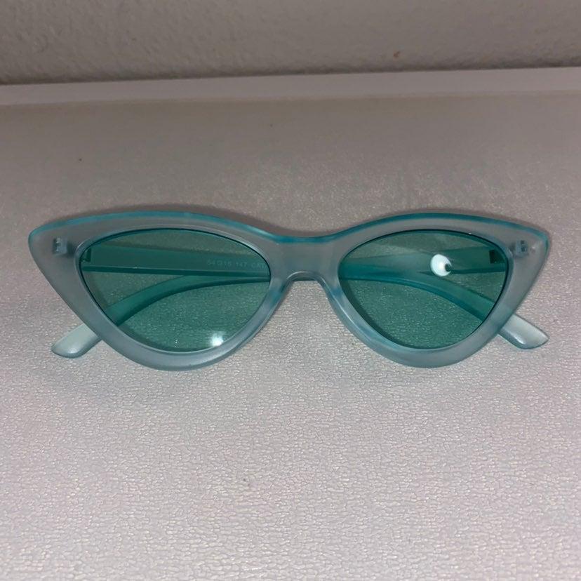 Teal Sunglasses