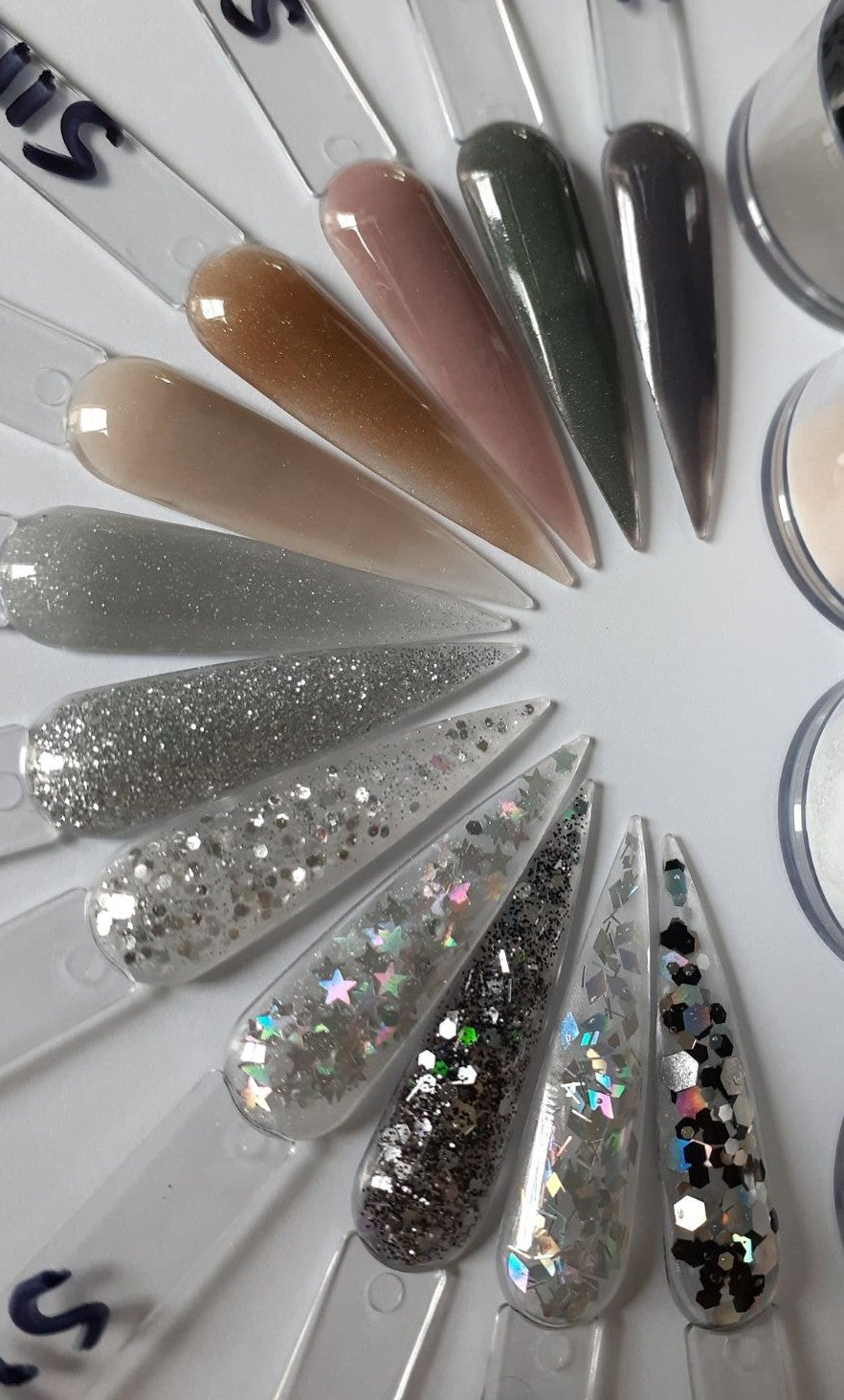 Collection Silvers acrylic