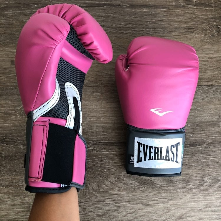 Everlast womens pink boxing gloves