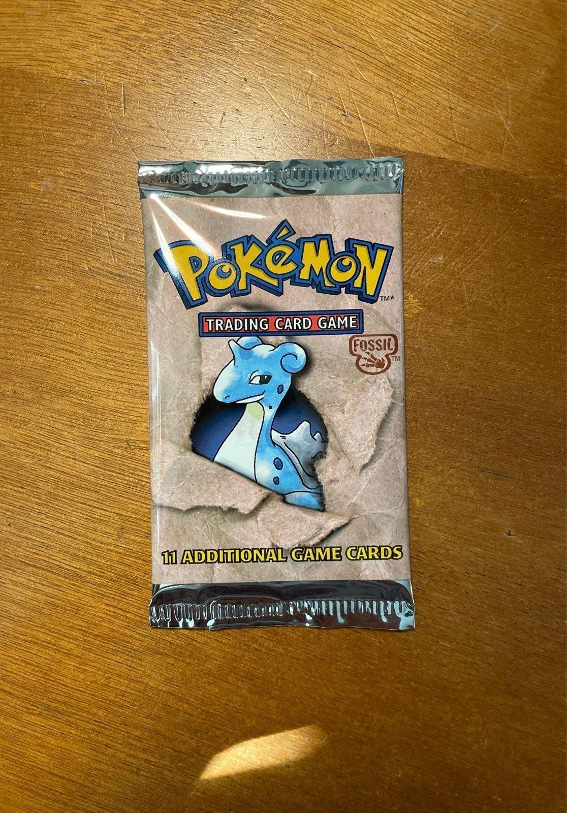 pokemon fossil unopened