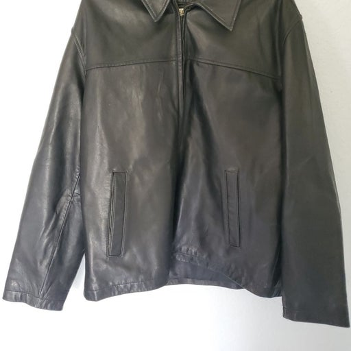 Covington 100% Leather Men's Large Coat