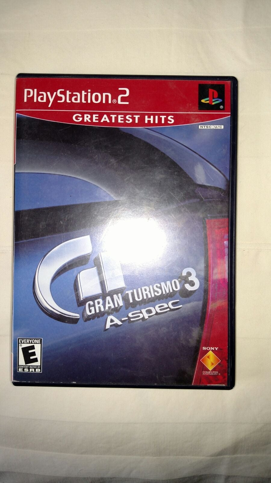 PS2 Game Disc Gran Turismo 3 A-spec