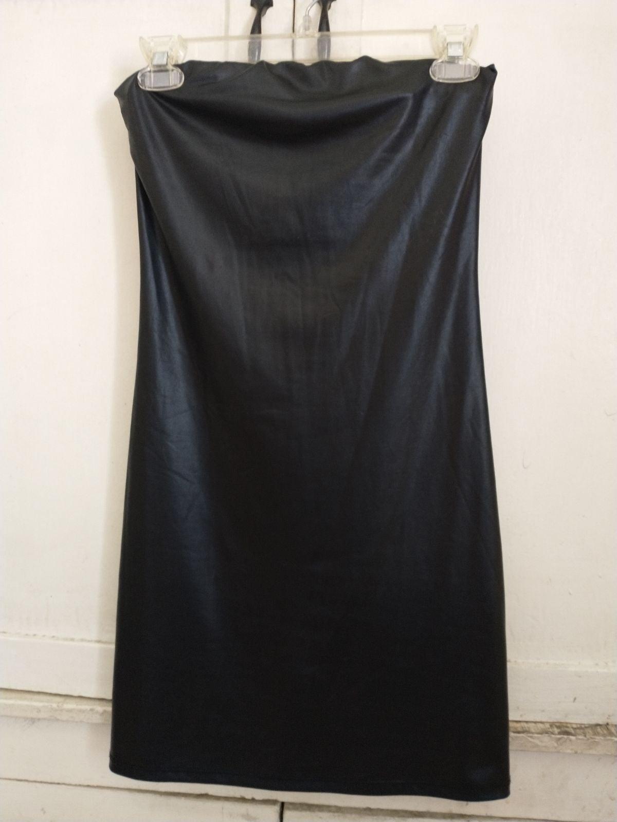 Rubber Tube Mini Dress