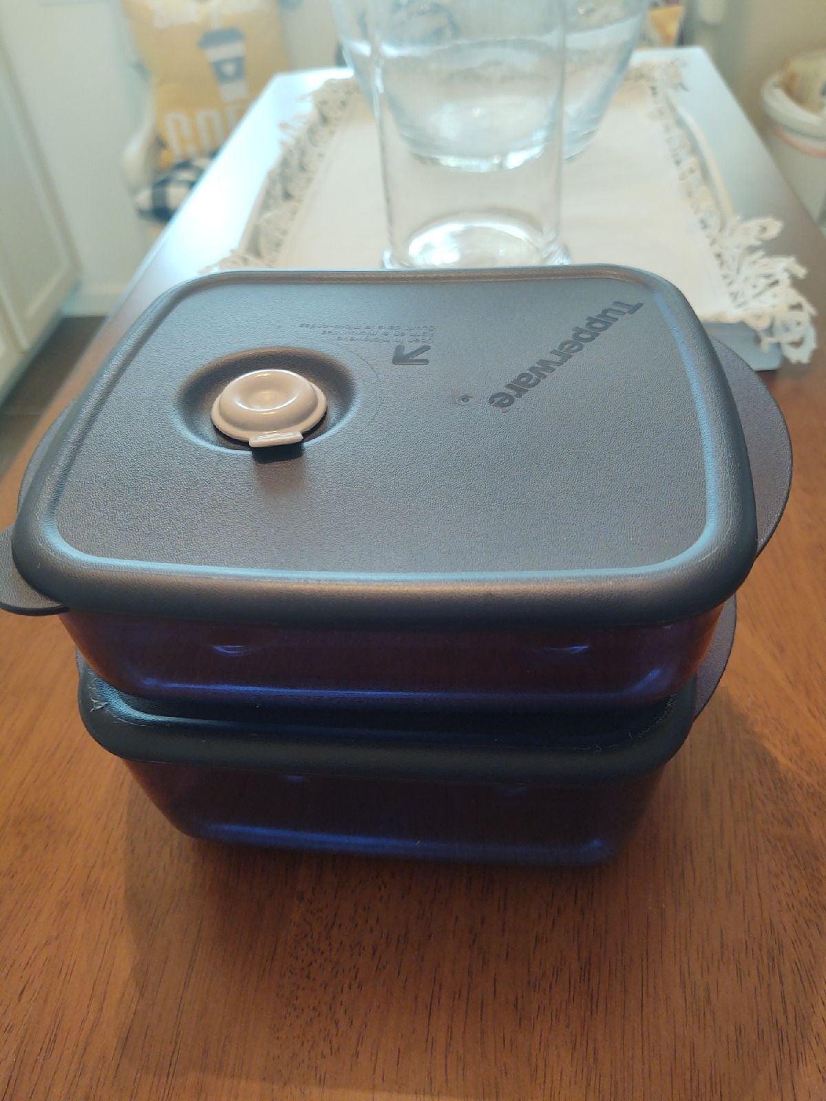 Tupperware Vent 'N Serve 2-Pc. Medium Se