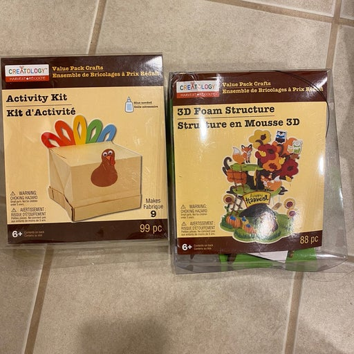 thanksgiving or fall crafts