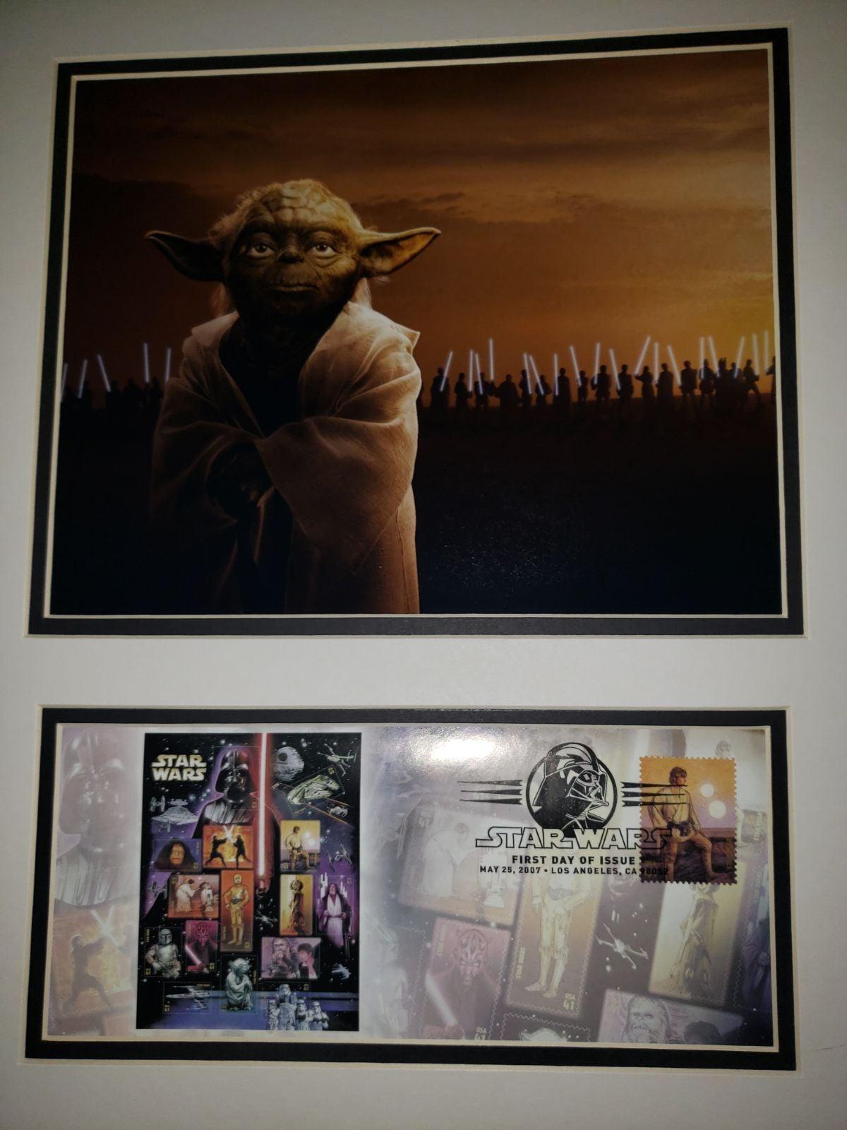 Yoda Postal Commemorative Print