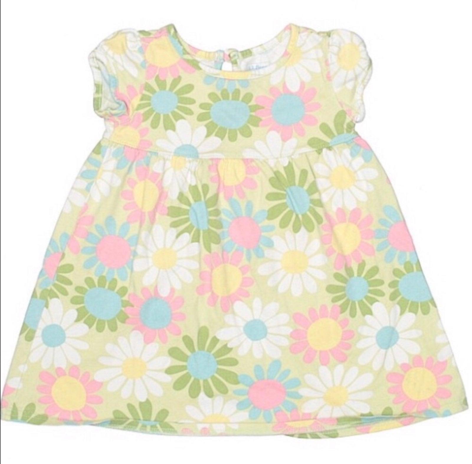 L.L. Bean Mod Floral Sundress Size 2T