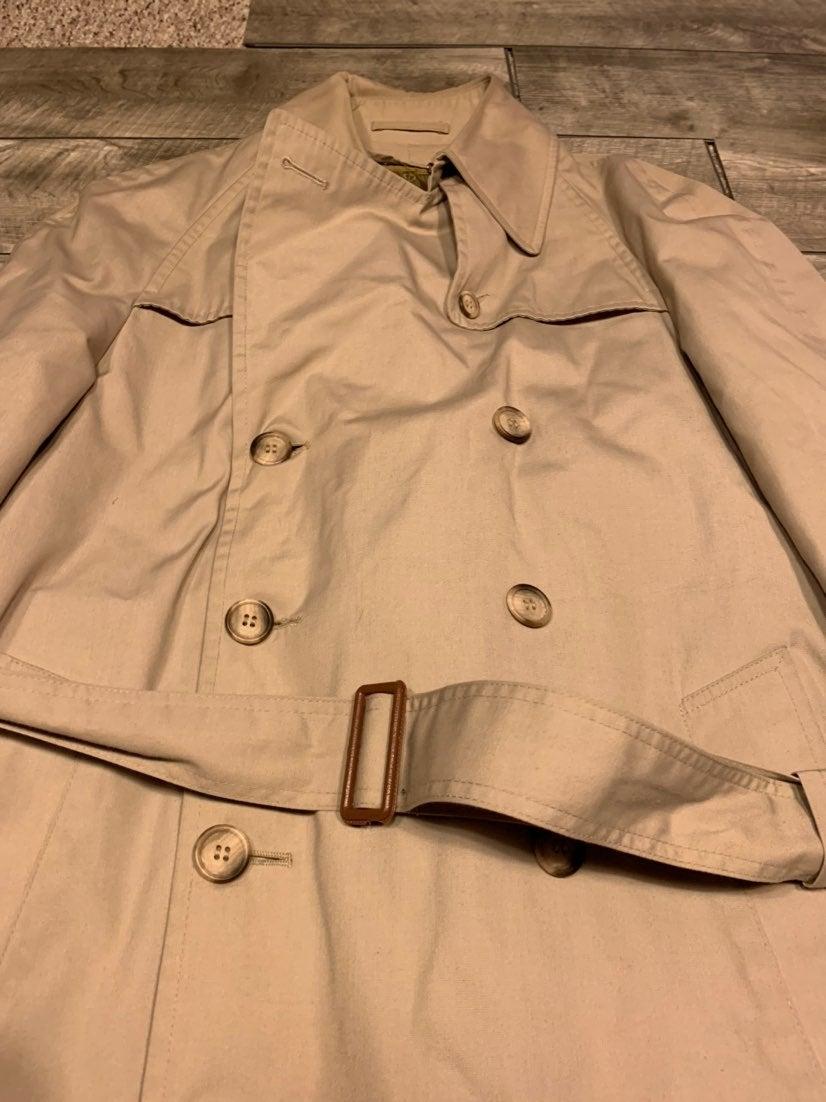 Christian Dior Rain Men's Trench Coat 38