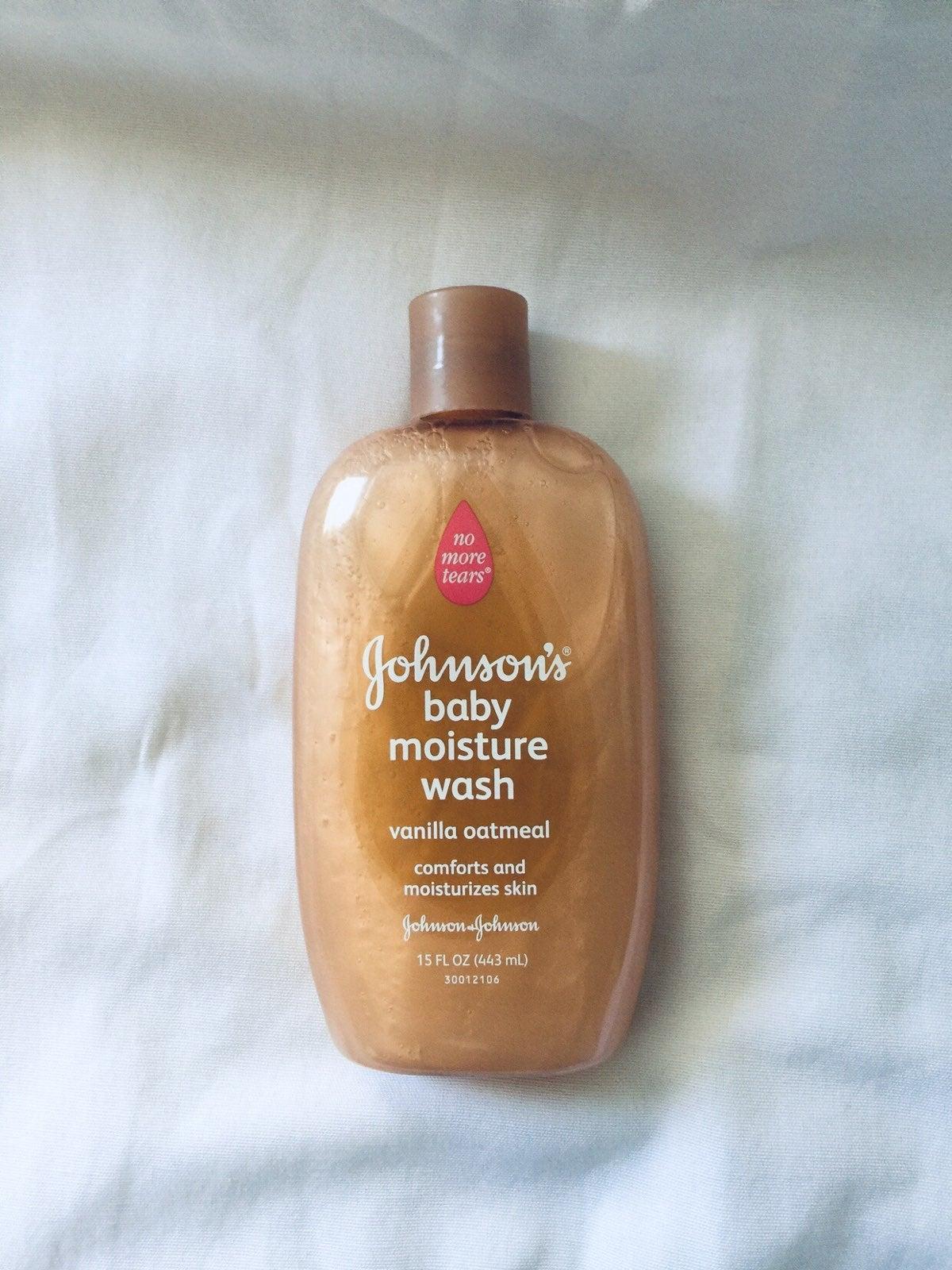 Johnsons Baby Moisture Wash Vanilla Oatmeal 15 fl oz NEW