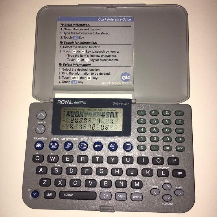 Royal dm3070 Electronic Organizer