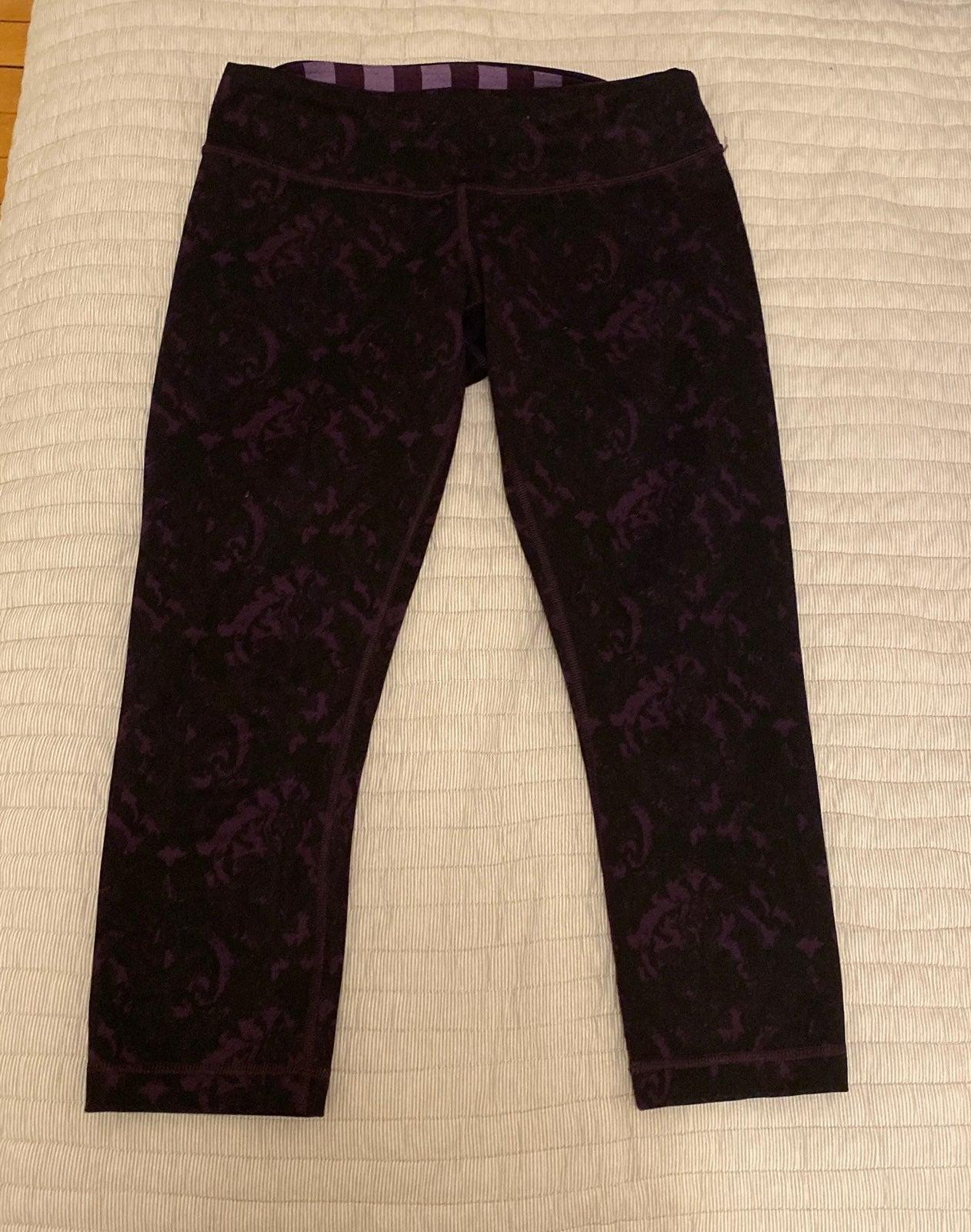 lululemon leggings size 6 tie dye