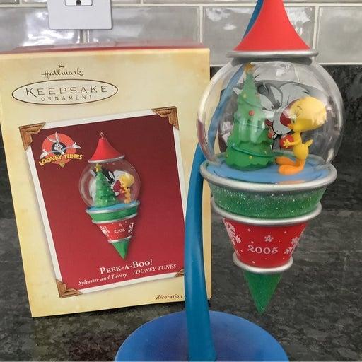 Hallmark Tweety & Sylvester Ornament
