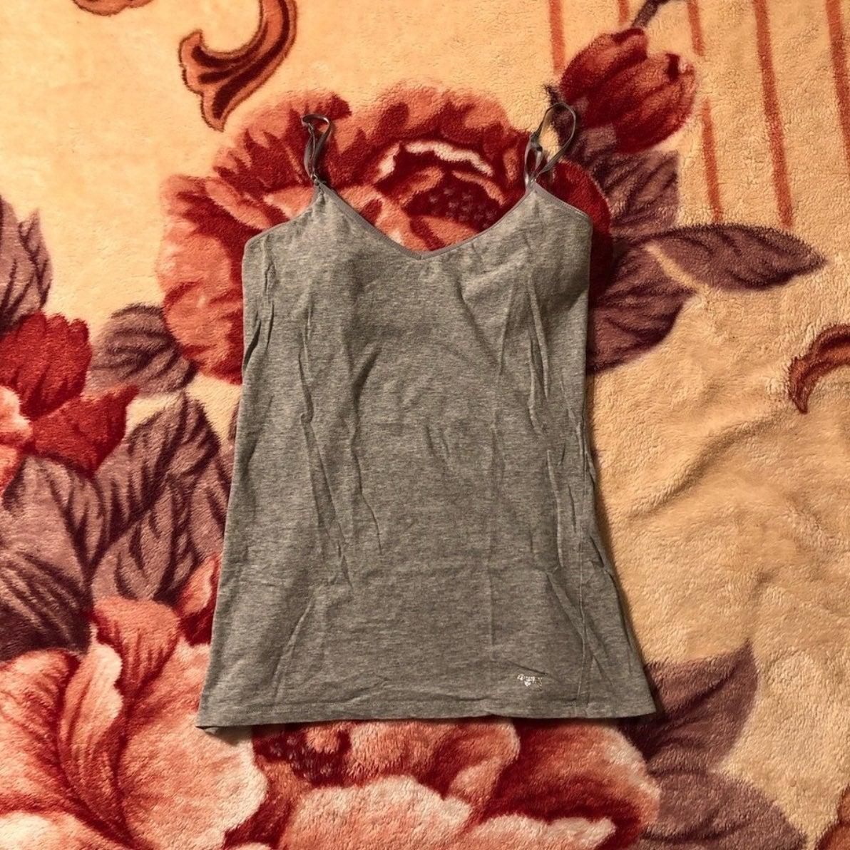 Gray camisole