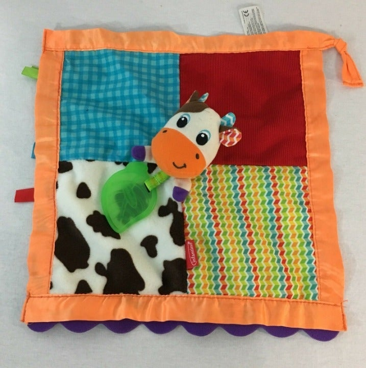 Infantino Cow Lovey Security Blanket