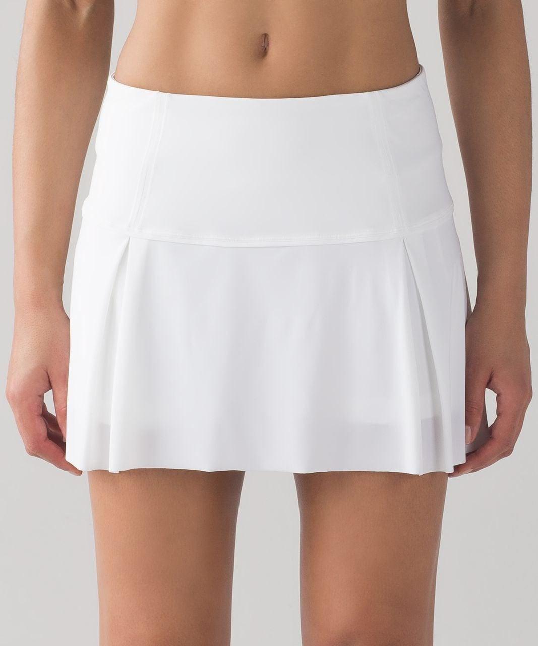 Lululemon Lost In Pace Skirt White