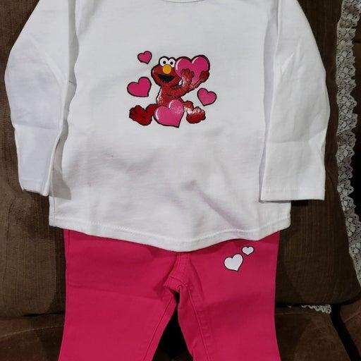 Infant Outfits ( 2 sets bundle pk 0-3mo)