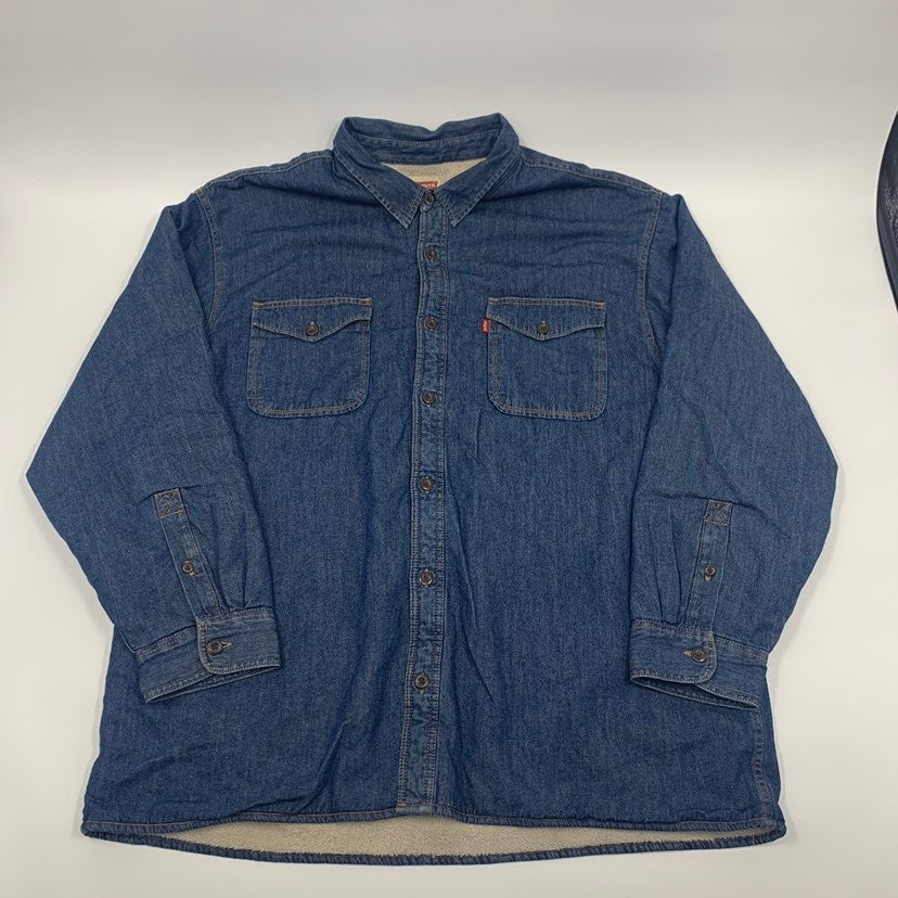 Levis Sherpa lined button down 3XL