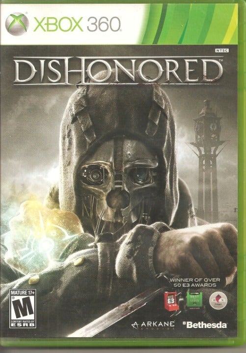 XBOX 360 Dishonored in Original Case
