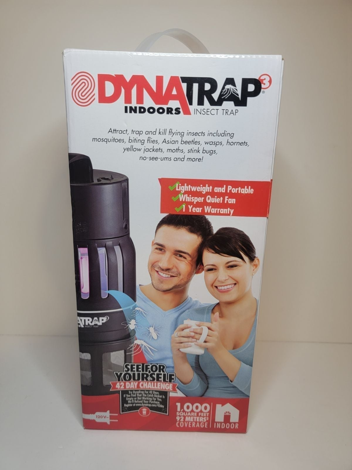 Dynatrap 3 new in box mosquitos