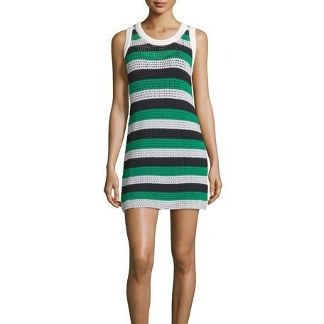 See by Chloe Sleeveless Striped Dress