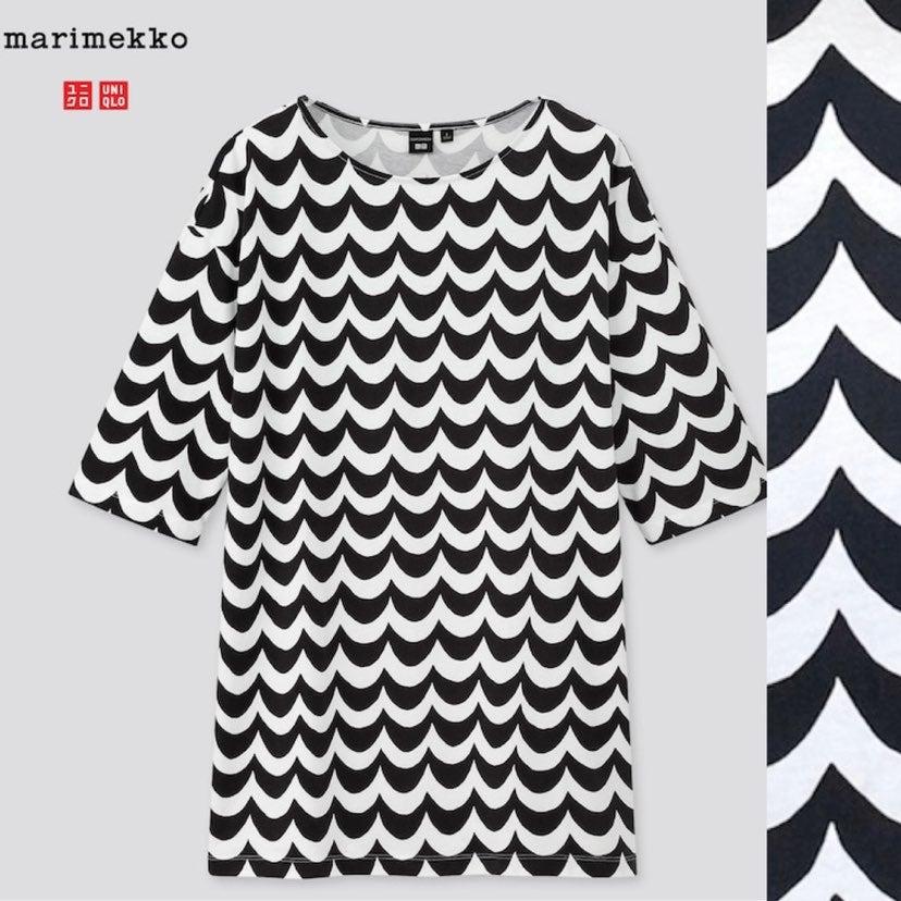 Uniqlo x Marimekko 3/4 Sleeve Tunic Top