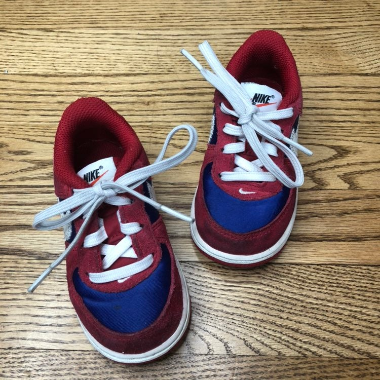 Nike Force 1 Sneakers Toddler Red Blue