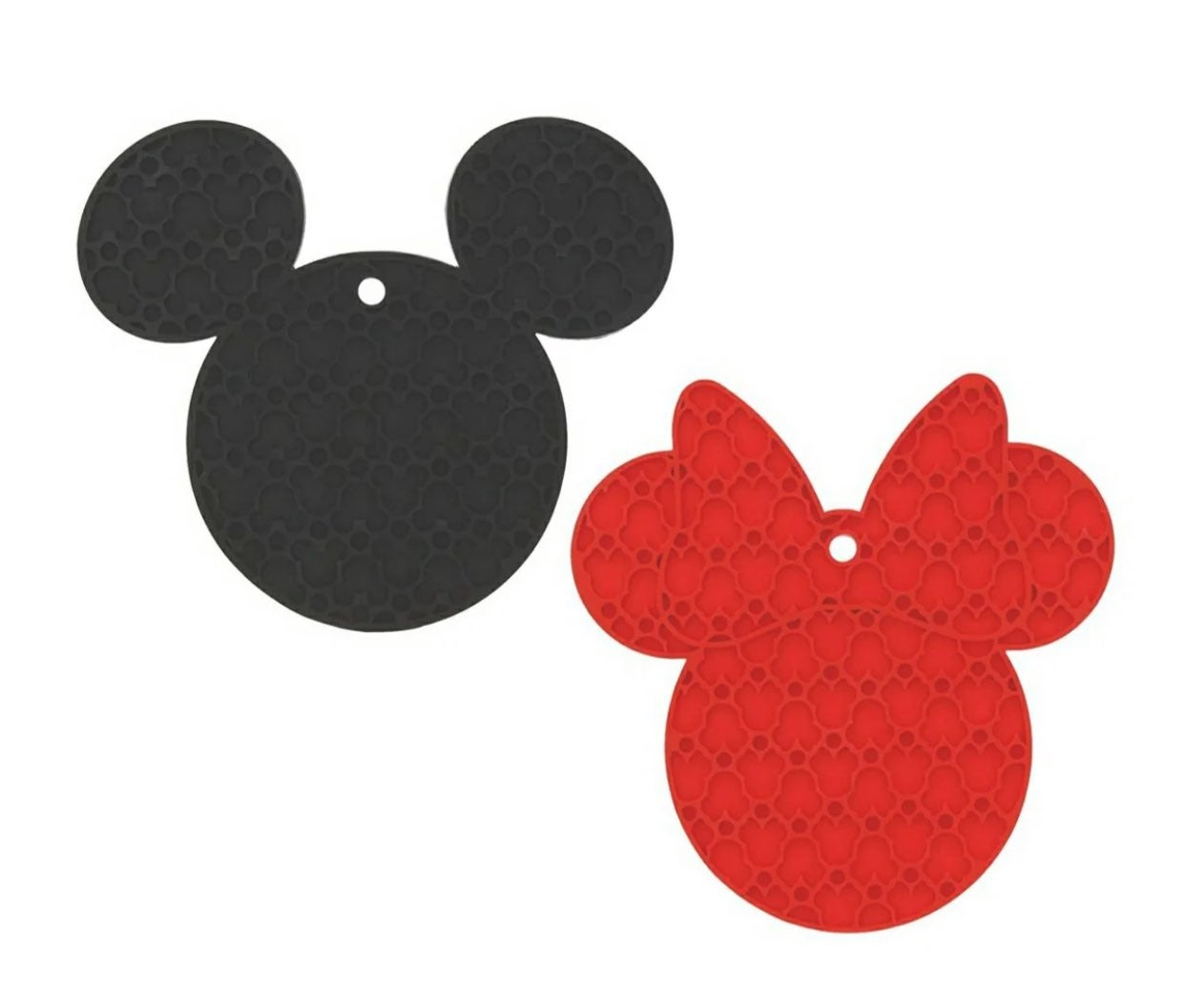 Disney MickeyMouse 2pack Silicone trivet