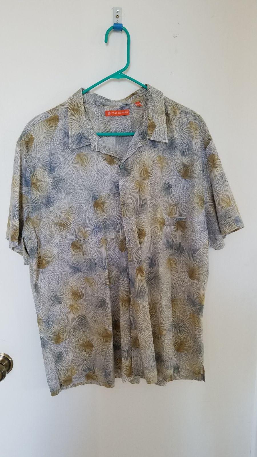 Tori Richard men's Aloha Shirt