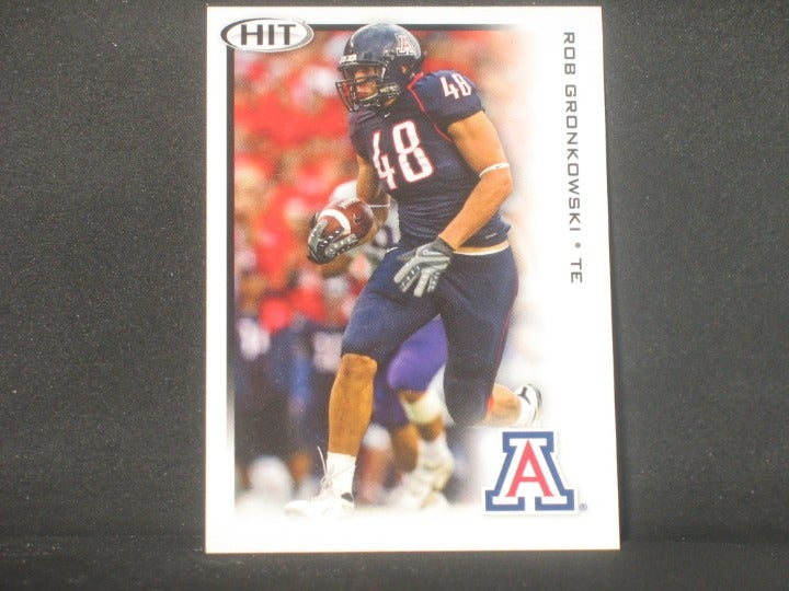 Rob Gronkowski 2010 SAGE HIT Rookie Card