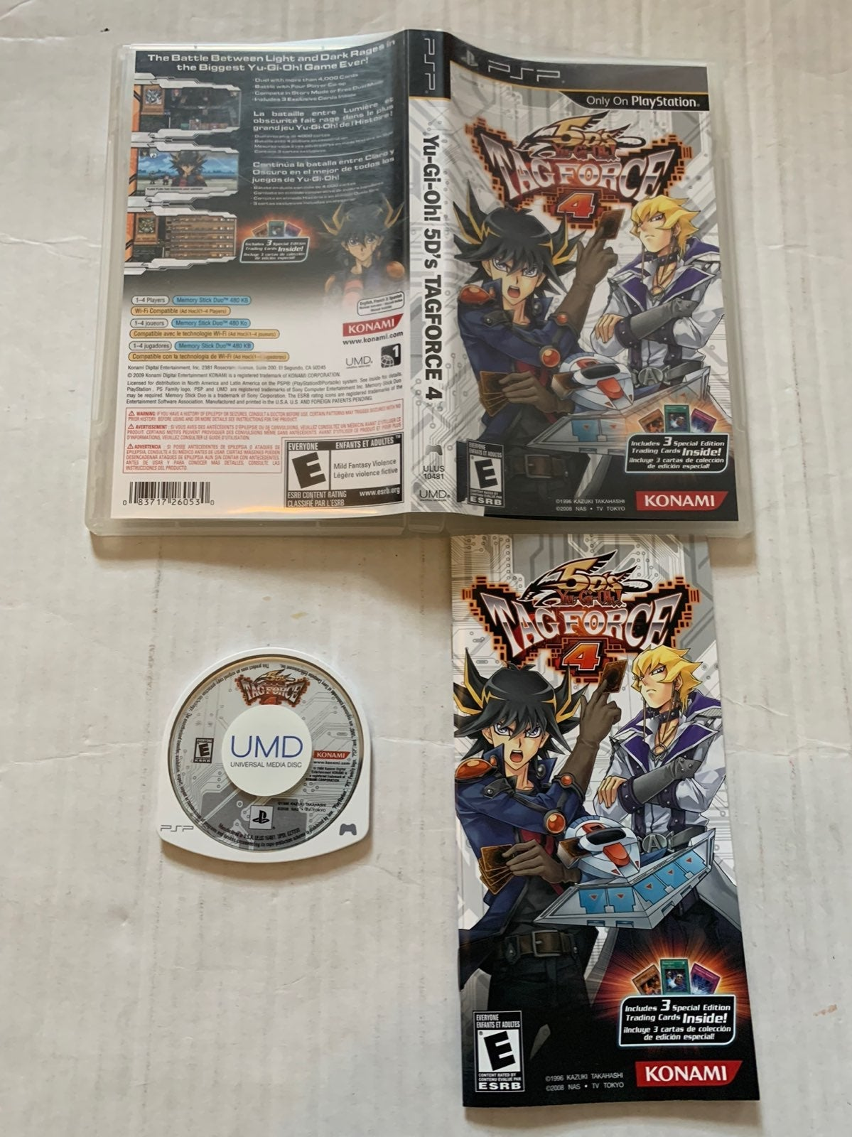 Sony PSP Yu-Gi-Oh! 5D's Tag Force 4