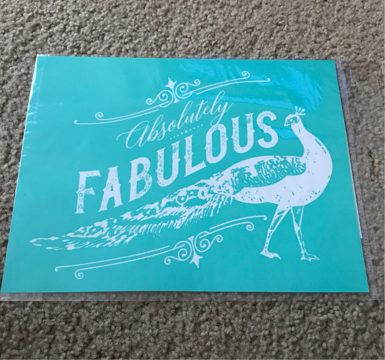 Chalk Couture ABSOLUTELY FABULOUS