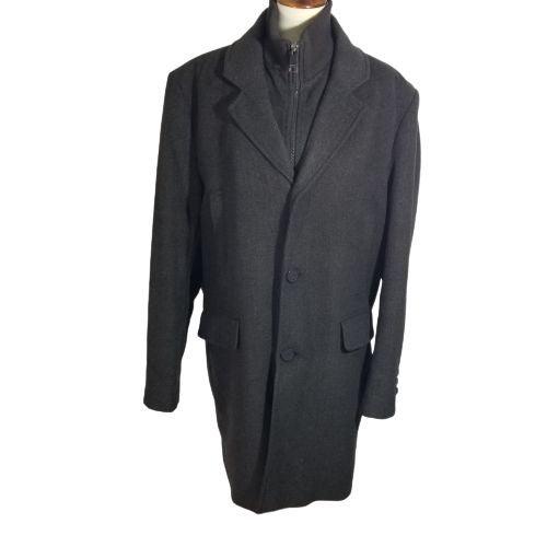Marc NY Mens brown Coat sz L