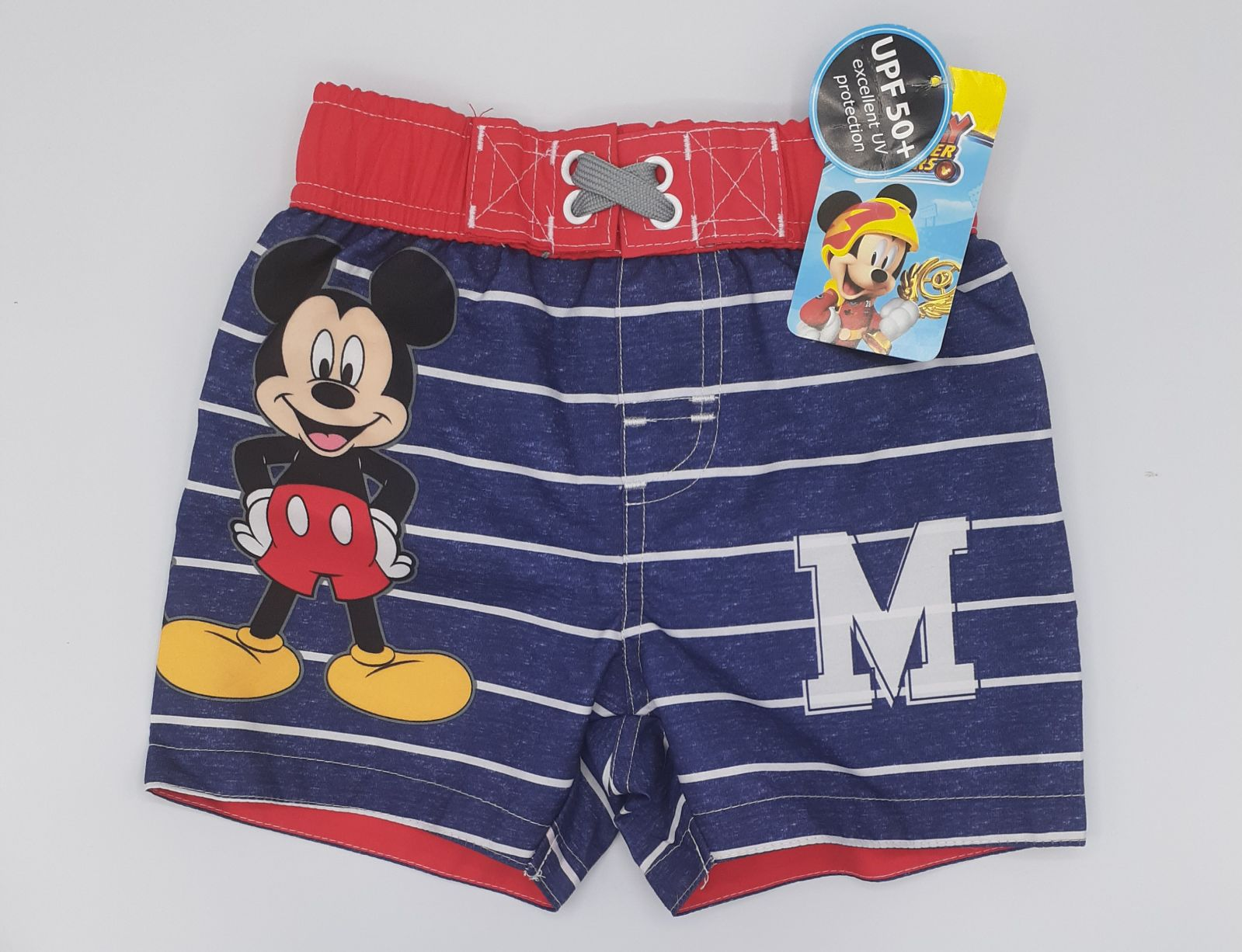 MICKEY MOUSE SWIMSUIT BOYS 12M UPF50+NWT