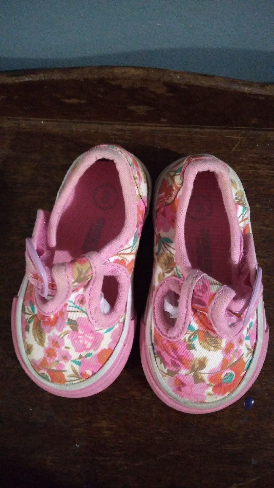 Genuine Kids Floral Sneakers