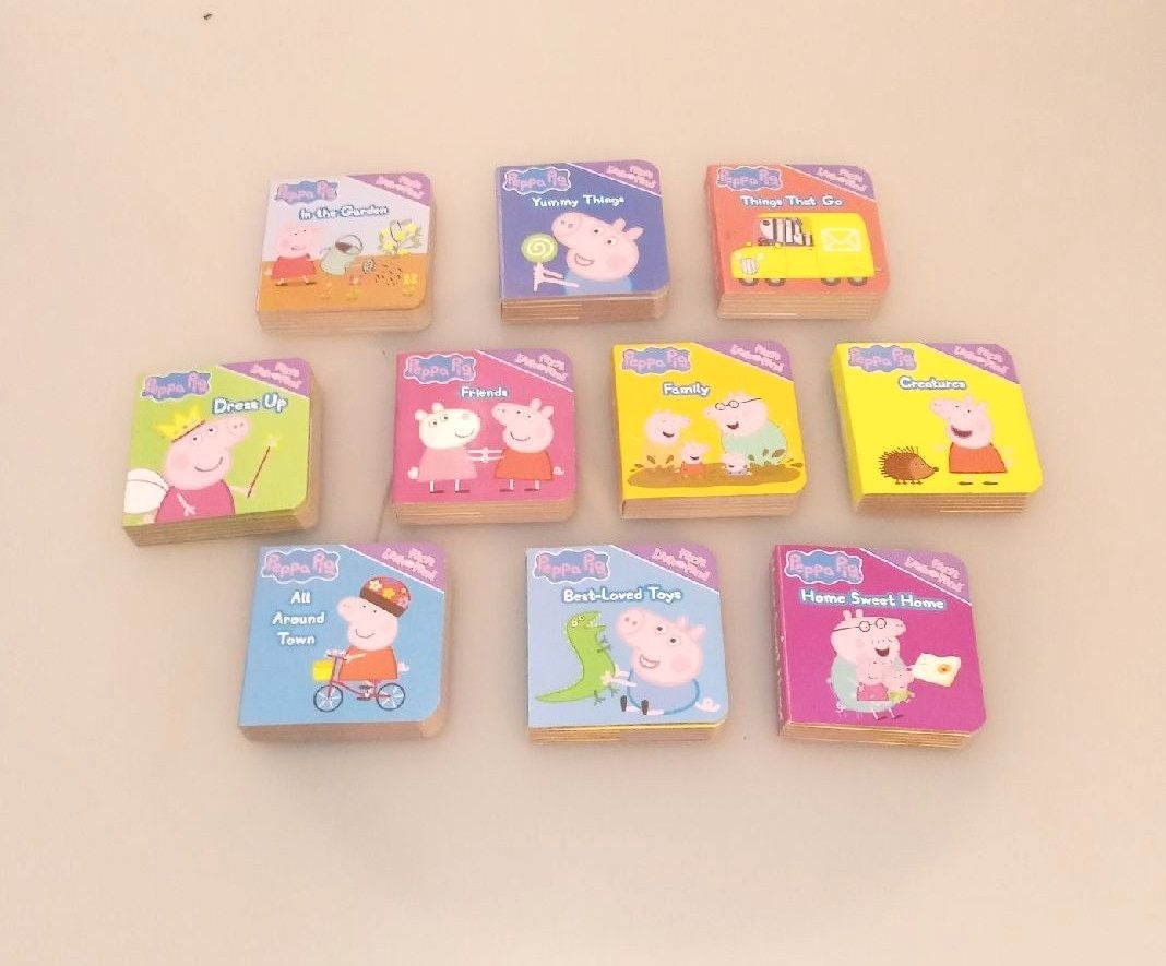 Peppa Pig mini board book lot