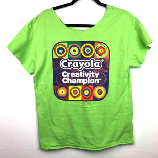 VTG Crayola Creativity Champion T Shirt