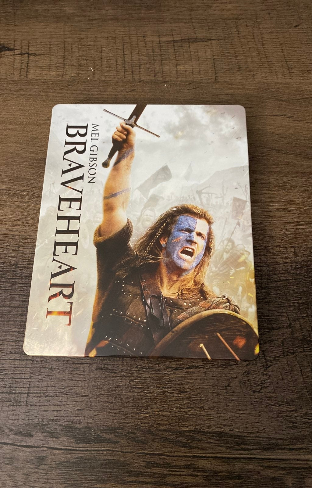 Braveheart. Steel-Book.